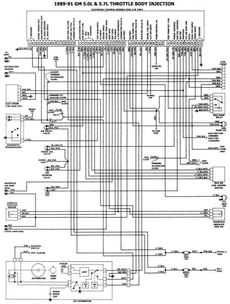 1987 Chevy Tbi Wiring Diagram : 29 Wiring Diagram Images