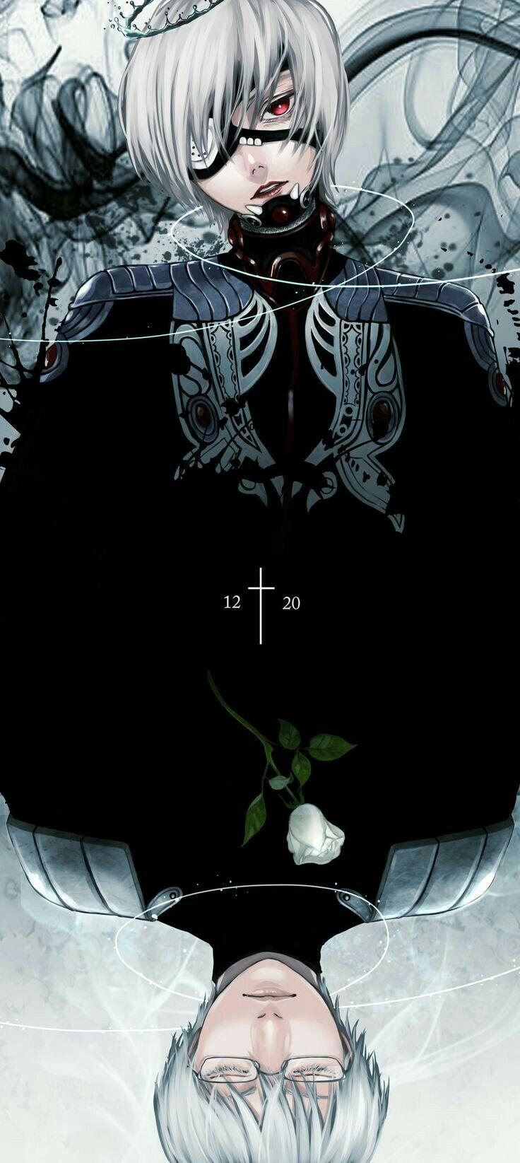 Ghim của Yến Lê trên Tokyo ghoul Nghệ thuật anime, Anime
