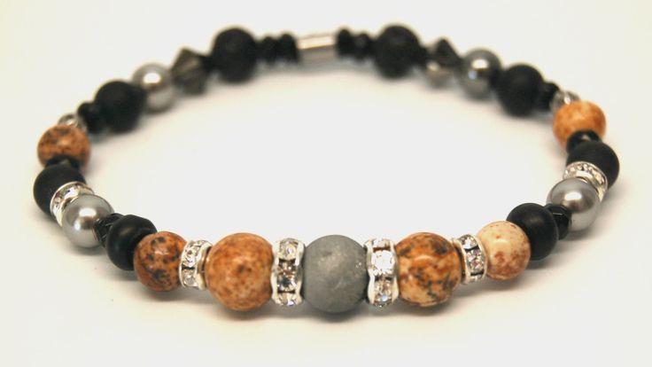 Bracelet cristal bracelet pierre précieuse bijoux chic bracelet élastique…