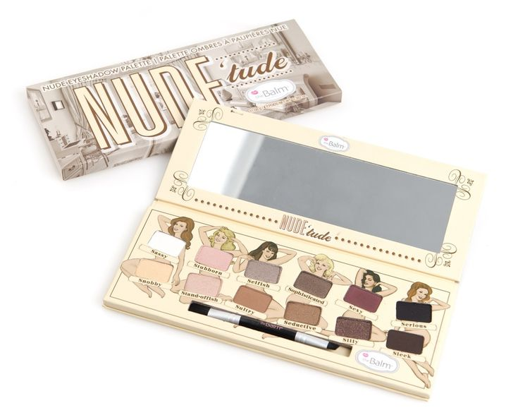 369kr på Blivakker.no - The Balm Nude'Tude Eyeshadow Palette 12 Farger