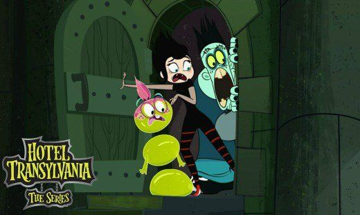 hotel transylvania the series, tv show, cartoon, pilot, spin off, season 1, review, disney channel