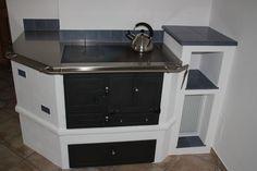 gemauerter-Holzherd / build-in wood burning stove