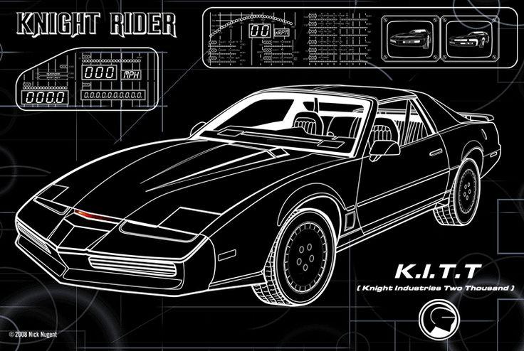 K.I.T.T. Knight Rider