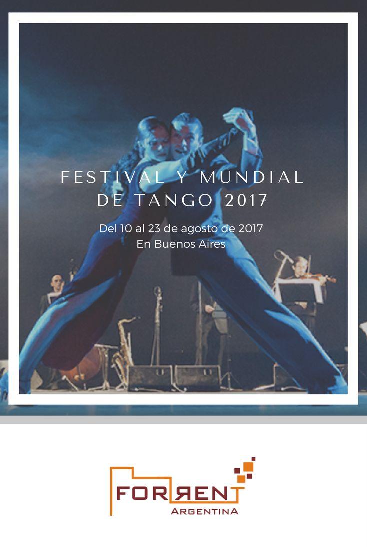 El Festival y Mundial de Tango 2017 se celebra del 10 al 23 de agosto.  La Ciudad de Buenos Aires ofrecerá actividades gratuitas en torno al Festival: desde recitales, exhibiciones, clases y espectáculos hasta una feria de productos temáticos.  ¿Ya hiciste tu reserva para hospedarte en Buenos Aires y disfrutarlo? ¡Conoce nuestras opciones!