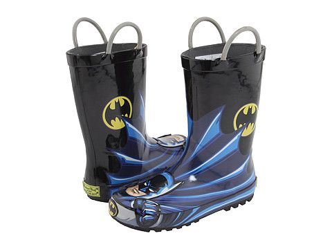 Western Chief Kids Batman Character Rainboot (Infant/Toddler/Youth)  Mimi!!!  Jax wants these!