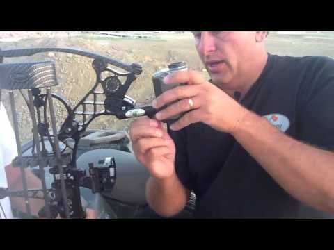 Bow Hunting Camera Mount For GoPro. Works on any Bow with any Camera. Great Bow Hunting Camera Mount