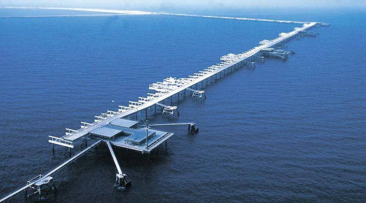 사우디아라비아 주베일 산업항. Jubayl Industrial Port, Saudi Arabia.