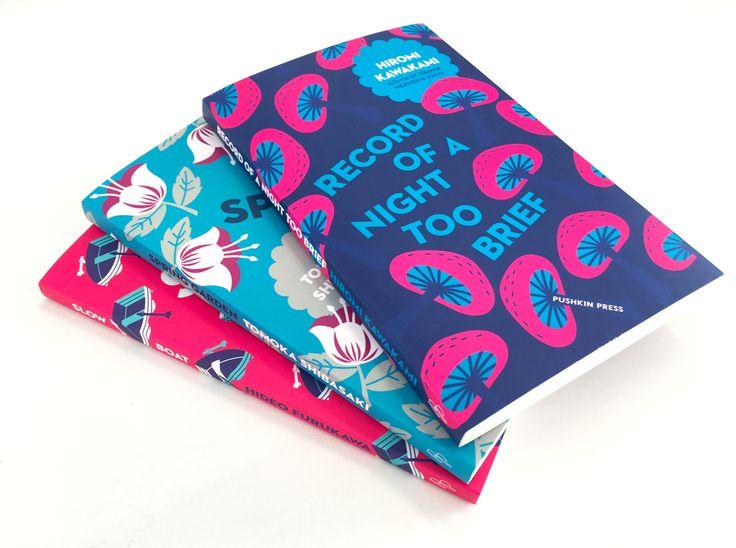 WORK: Nathan Burton book covers for Pushkin Press - Creative Review