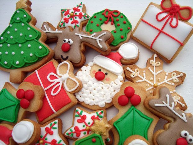 M s de 25 ideas incre bles sobre galletas navide as en for Ideas para cocinar en navidad