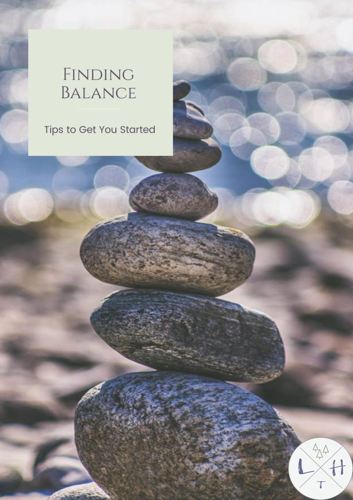 Finding balance in our lives is so important, yet can be such a difficult task. I am here to share a few things Ive learned to help you find balance today.