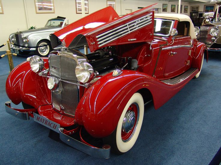 """Seen at """"The Imperial Palace Auto Collection"""" in 2005. Maybach automobiles were among the leading and most prestigious of German cars in the 1930s competing with Mercedes Benz. The Maybach SW38 was built in Germany from 1936 to 1939. This car won Best of Show at the Santa Barbara Concours d'Elegance in 1999. Price: $ 2.750.000,-"""