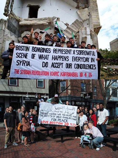Syria Sends Condolences To Boston, Here Is Bostons Heartwarming Response
