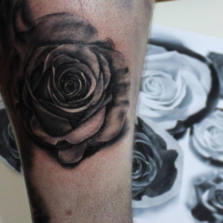 #inprogress #tattoo #tattooart #rose #rosetattoo #blackandgrey #ink #inked #cheyenne #rtats #jaer_X #тату #татуировка #ногавпроцессе