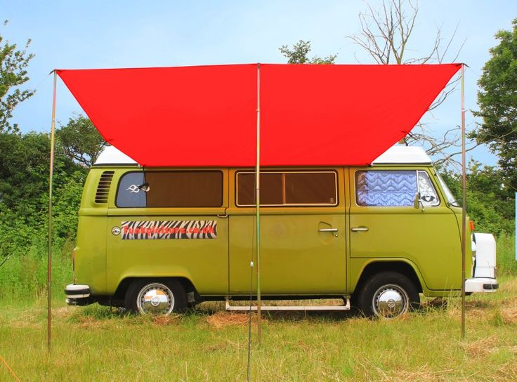 Lightweight and versatile as well as UV resistant and waterproof this VW Camper Awning is 3 metres long and 2 4 metres deep making it one of the largest awnings