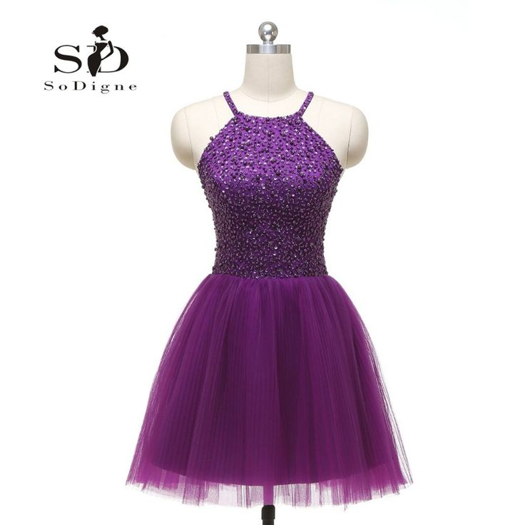 25 best ideas about short purple prom dresses on. Black Bedroom Furniture Sets. Home Design Ideas