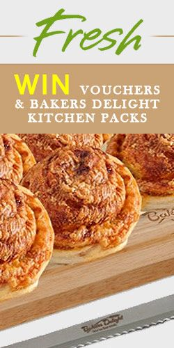 #RePin & #Win #Vouchers & Bakers Delight #Kitchen Packs! #competition #food