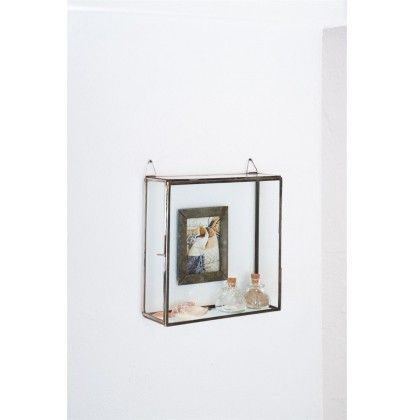 French Glass Photo Box 10x15