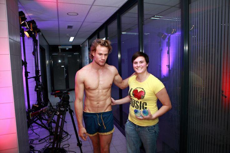 Foto's: Sterren Springen: Backstage show 3 - Sterren Springen - SBS6