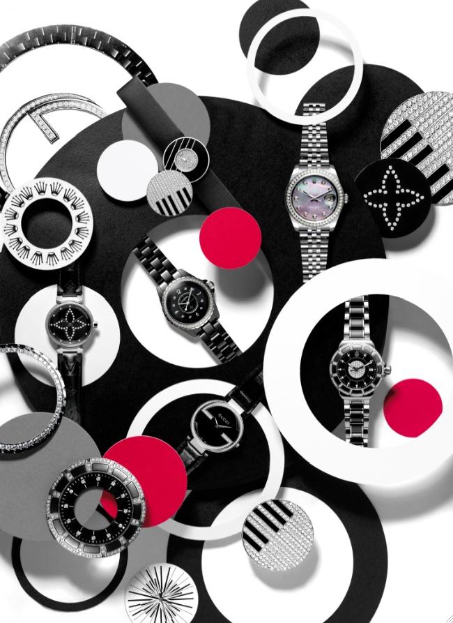 You Inspire Gifting, Fine watches shoot Jewellery Editor: Bettina Vetter Photographer: David Newton