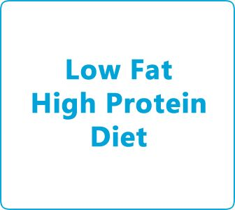 A guide to low fat and high protein diet plan a way to lose weight by eating the correct meals in a set routine