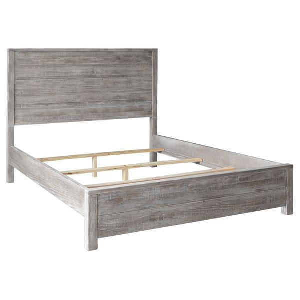 Grain Wood Furniture Montauk Queen Solid Wood Panel Bed | My Bedroom ...