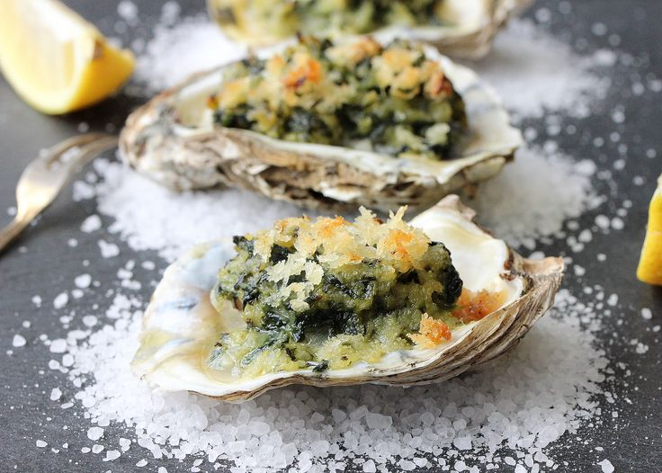 These Oysters Rockefeller are so decadently delicious. Incredible for a special occasion or holiday party. These gems are a real crowd pleasing delight!