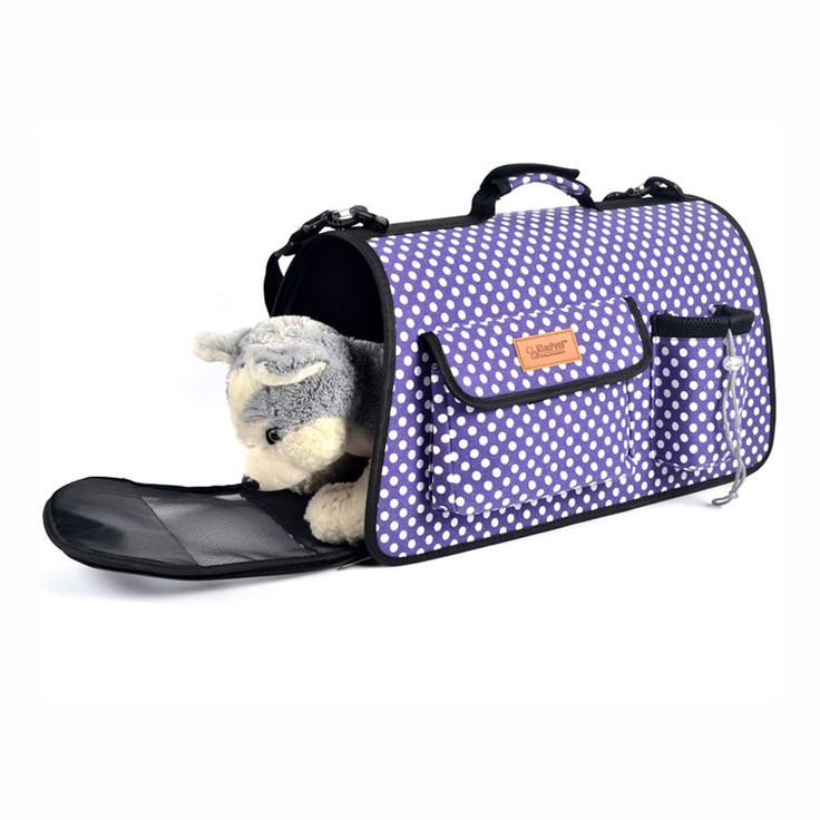Pet Carrier Dogs Fold Carriers Bags Mesh Breathable Pet Travel Shoulder Small Dogs And Cats Folding Portable Outdoor Bag Kingpet