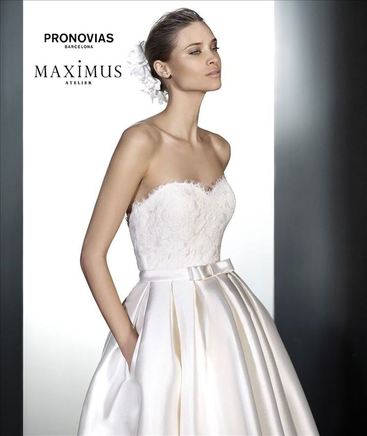 Popular This designer bridal gown by Pronovias Barcelona is on sale now