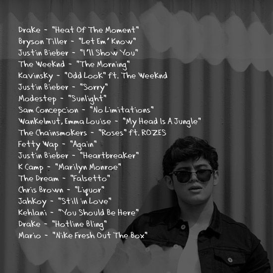 valentine playlist songs