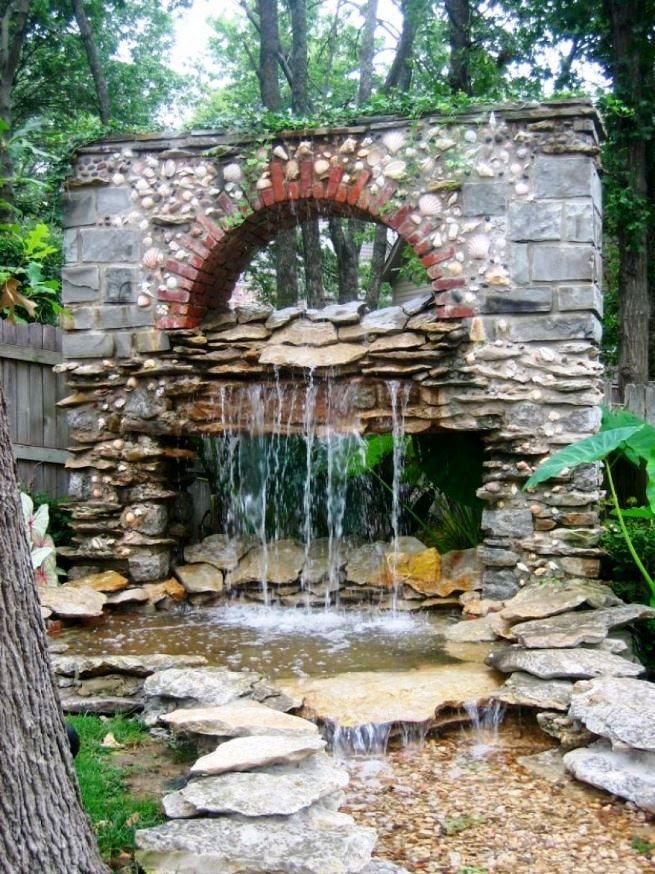 Bon Small Garden Fountain Ideas