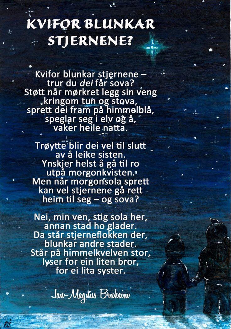Jan-Magnus Bruheim dikt