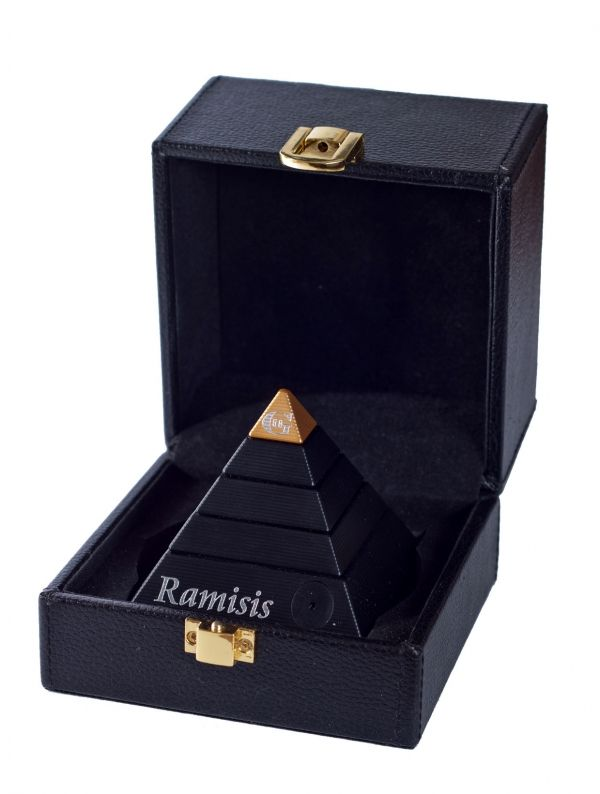 metal puzzle box | G2 Metal Brain Teaser Puzzle Ebony Black and Gold In Leather Box ...