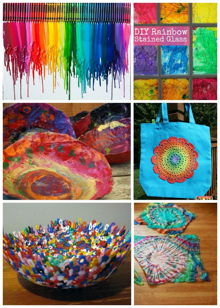 rainbow crafts for older kids