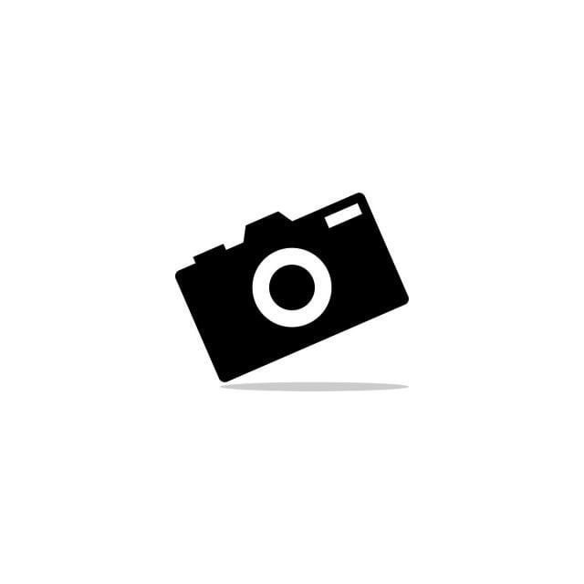Kamera Prostoj Elegantnyj Chistoj Izolirovannyh Belyj Volt Chernyj Siluet Logotip Vektor Dizajn Logotipa Fotosemki Logotipy Fotosemki Logotip Kamery