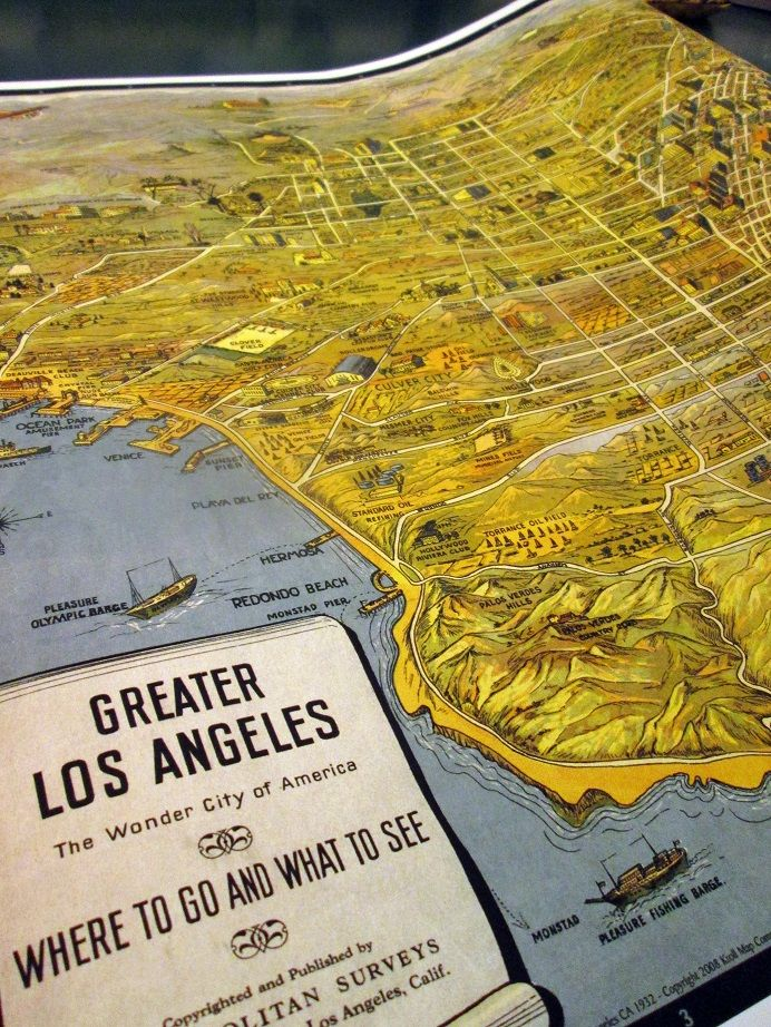Map of Los Angeles in 1932 44