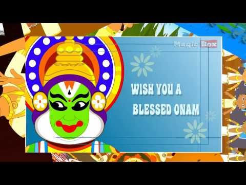 Onam whatsapp short video download | Best Onam funny animated hd video free | Happy Onam Wishes, Pictures, Images, Wallpapers, Pooklam Designs