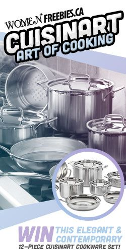 Get Cooking with a Cuisinart Cookware Set