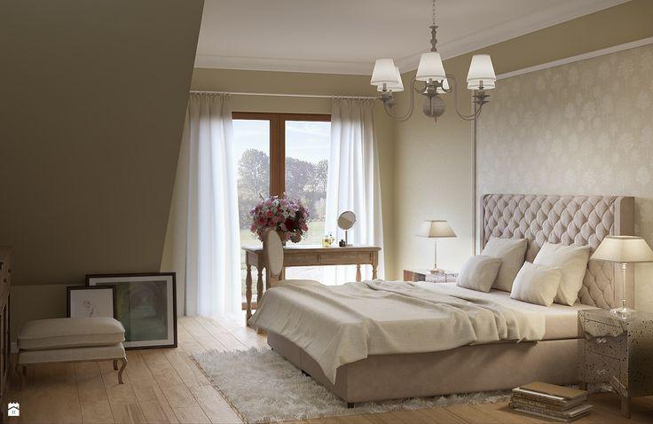Sypialnia - Styl Klasyczny - LIL Design - Łóżko