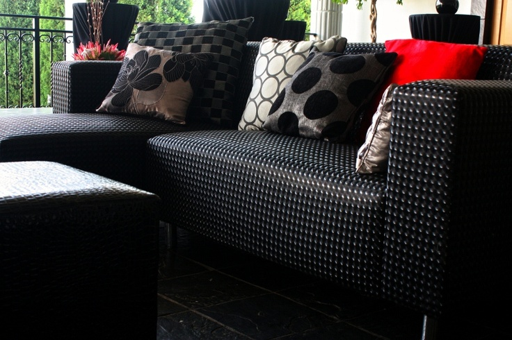 Afro - chic Seating close up