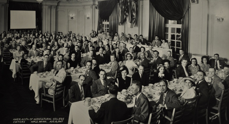In 1947 the group was called the American Association of Agricultural College Editors.