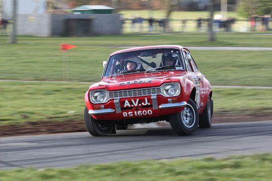 Ford Escort MK1, Stoneleigh rally, groupb
