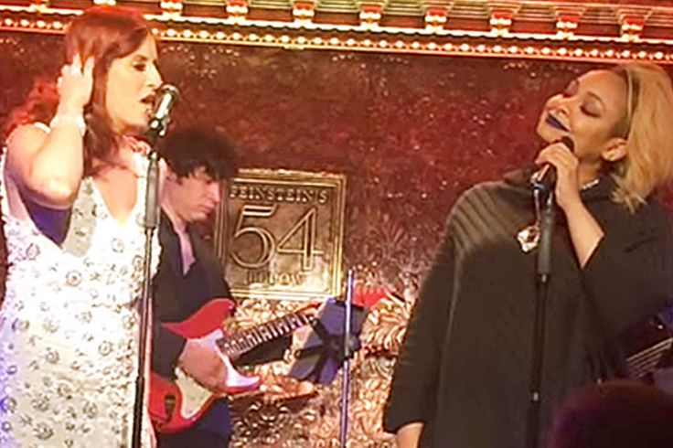 Raven-Symoné joined Anneliese van der Pol at her solo show at 54 Below in New York City.
