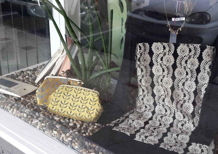 Suzie Qu bespoke LA Clip framed bags featured in Calyx boutique