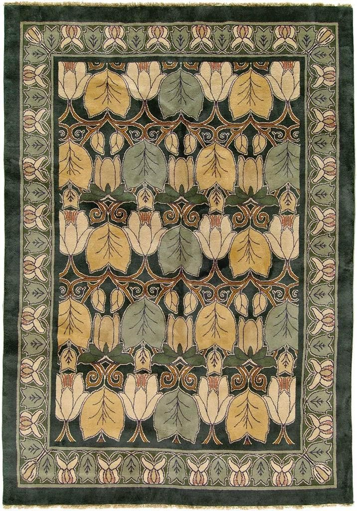Magnolia 1 In 2018 Arts And Crafts Rugs Pinterest Craftsman