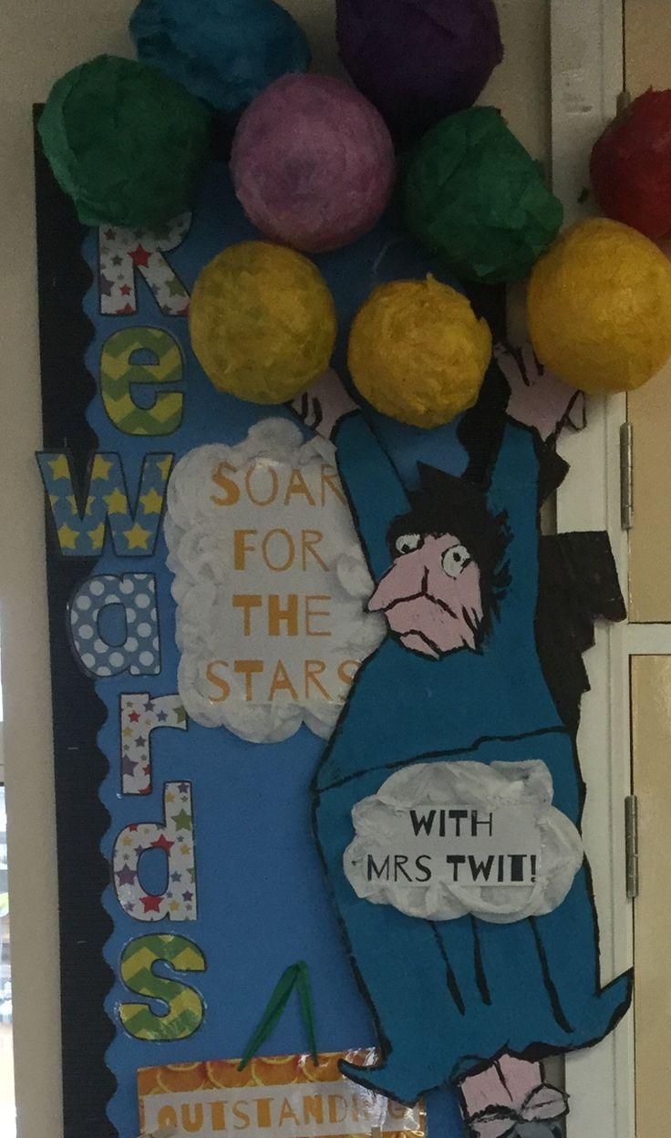 Inspire reading display - Mrs Twit