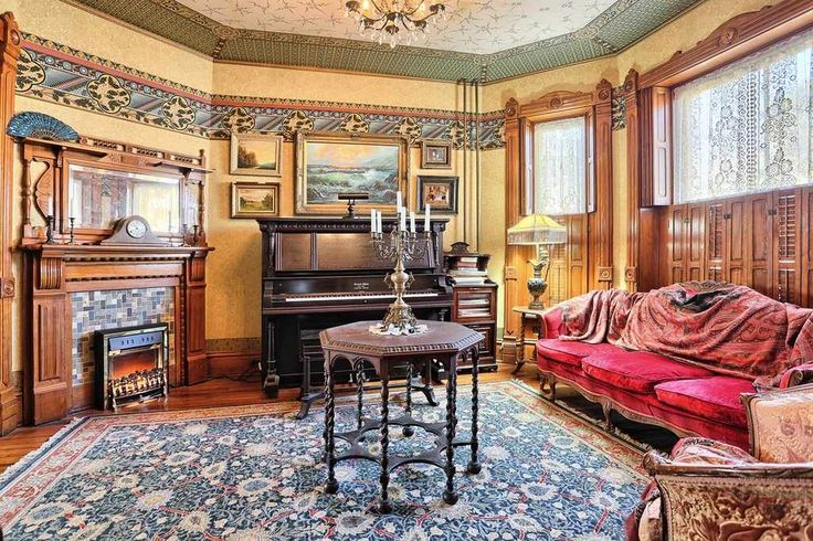 Secret Houses Victorian Houses Queen Anne Sitting Rooms Keller St St