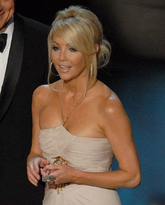 Heather Locklear with gorgeous up do