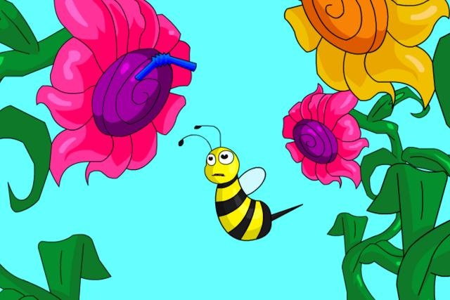 """2D Animation """"Buzzy Bee and Friends"""" by CVCC Media Technology. Adaptation of the children's book by Carol Moore.  Produced by Steven Popek, class of 2011."""