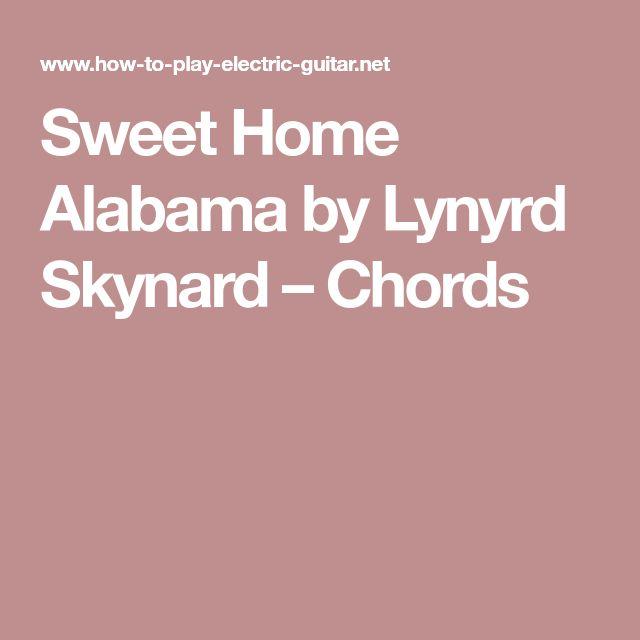 Sweet Home Alabama by Lynyrd Skynard – Chords