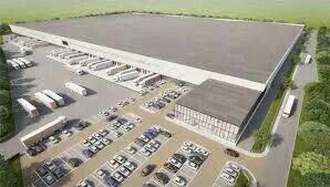 110.000.m2 opslag voor Michael Kors. Opdracht voor de gehele afwatering, waterzuivering en pompgemalen.